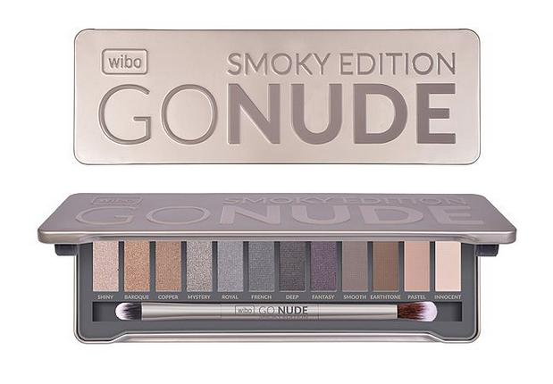 paleta cieni WIBO - Smoky Edition